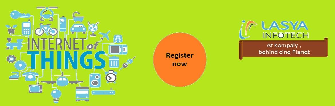 Book Online Tickets for One Day Workshop on Internet of Things (, Secundraba.