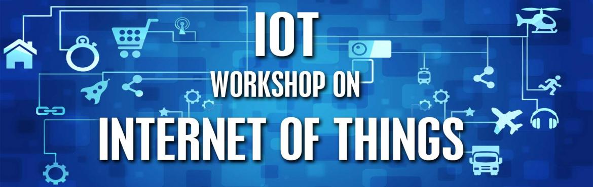 Book Online Tickets for IOT - Internet Of Things Workshop (DLK C, Chennai. INTERNET OF THINGS (IOT)The Internet of Things (IOT), is the network of physical objects or things embedded with electronics, software, sensors, and connectivity to enable objects to exchange data with the production, operator and/or other conne