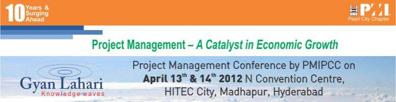Project Management Conference on 13th - 14th April @ N Convention, Hyderabad
