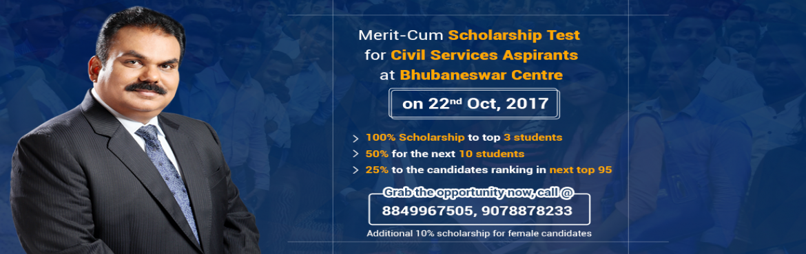 Merit cum Scholarship Program In Bhubaneswar
