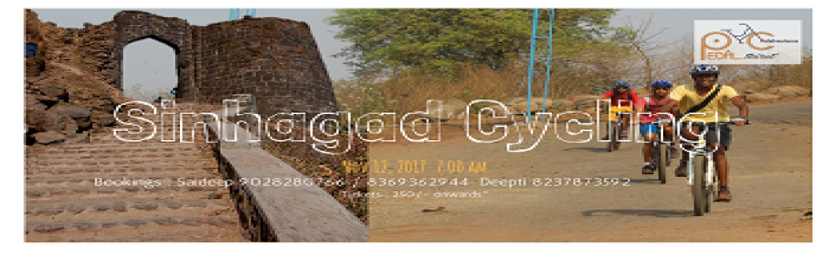 "Book Online Tickets for Sinhagad Cycling, Pune. About the Trail: ""TO WIN IT WENT FORTH MANY, BUT THERE CAME BACK NEVER ANY.""Undaunted by the terrifying nature of his mission, the lion hearted Tanaji vowed either to accomplish it or die in the process. He set out at night and from the K"