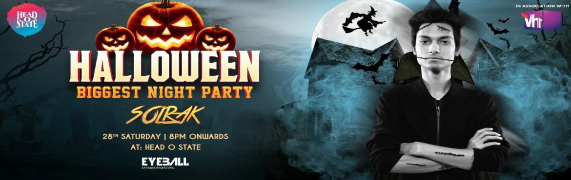 Book Online Tickets for Halloween NIght 2017, Bengaluru.  The Biggest Halloween Party w/ Solrak at Head O State this Oct 28th Saturday. With massive haunted setups and lots of exciting offers. #Spooky Face Painting## Neoe LIghts  Many More!!!!  What are you waiting for? Grab your tickets