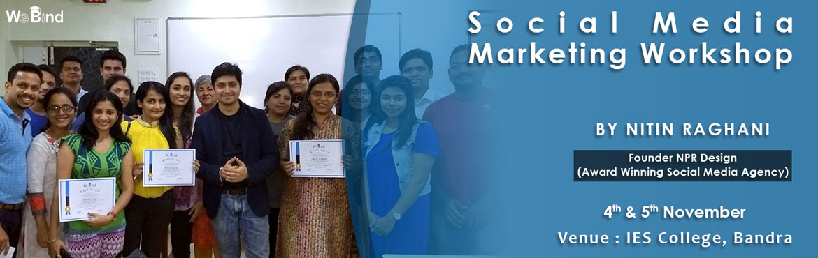 Book Online Tickets for SOCIAL MEDIA AND EMAIL MARKETING COURSE , Mumbai. We spend over 2.2 hours a day on all Social Media Channels. That's more than twice the global average of 26% and slightly more than the world average of 2.0 hours spent a day.  From Facebook, Twitter, LinkedIn, and Youtube, to Instagram,