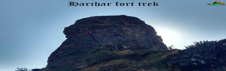 Harihar fort thrilling trek