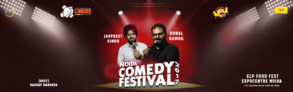 Book Online Tickets for Punchliners Mirchi LOL Noida Comedy Fest, Noida. Punchliners Mirchi LOL presents to you Kunal Kamra and Jaspreet Singhat NOIDA COMEDY FESTIVAL. Now that's a wooooooooooooow moment. Shout out to all comedy enthusiasts, Punchliners in association with ELP food festival is privileged to ann