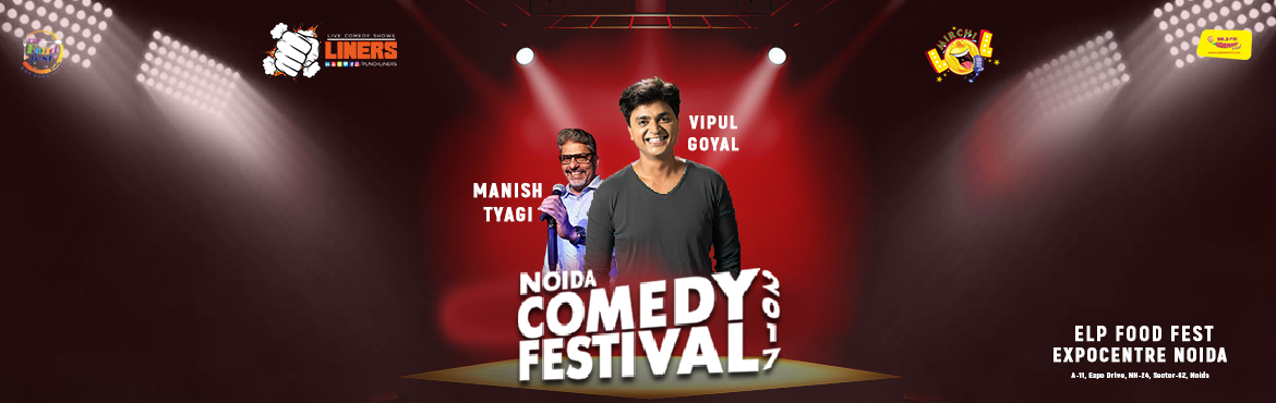 Book Online Tickets for Punchliners Mirchi LOL Noida Comedy Fest, Noida. Punchliners Mirchi LOL presents to you Vipul Goyal and Manish Tyagi at NOIDA COMEDY FESTIVAL.  Now that's a wooooooooooooow moment. Shout out to all comedy enthusiasts, Punchliners in association with ELP food festival is privileged to ann