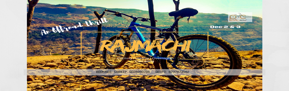 Rajmachi offroad trail and camping