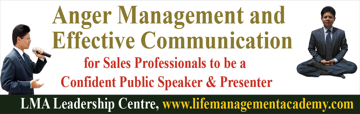 Anger Management and Effective Communication training for Sales Professionals