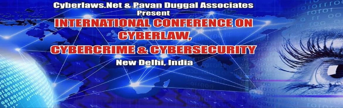 International Conference on Cyberlaw, Cybercrime and Cybersecurity