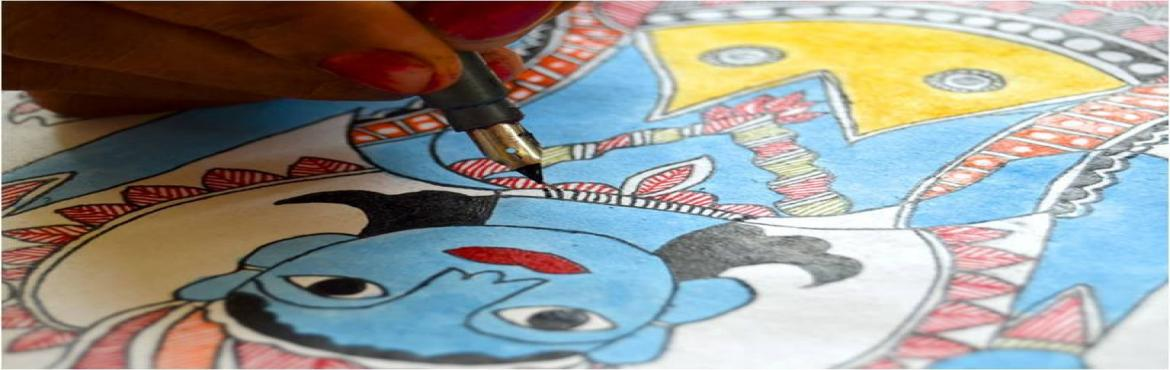 Book Online Tickets for Madhubani Painting workshop, Hyderabad.  MADHUBANI PAINTING WORKSHOPS by master artisan Vidyanath Jha and Krishna Kumar Jha from Madhubani, BiharMAKE AND TAKE HOME YOUR OWN PAINTINGFee: Online ₹1200Spot ₹ 1500The venue details:Sun, 29th Oct, 4 pm - 7 pm at Daaram, 1-10-3/1 Boorugu