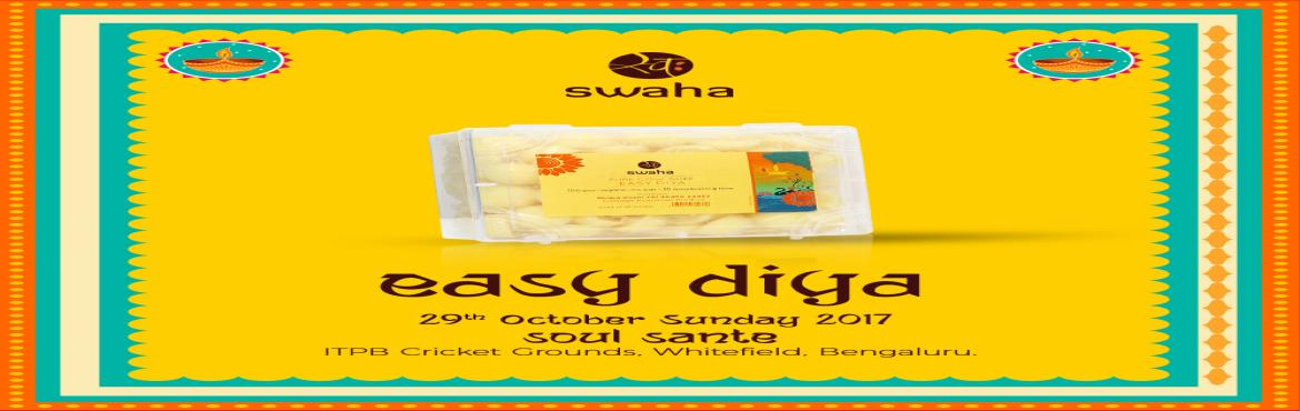Book Online Tickets for Easy Diya at Sunday Soul Sante, Bengaluru. Easy Diya wants to simplify this ritual for you so your focus is on offering your thoughts and prayers to the deity, we do all the preparations for you. Our diya candles are ready to use, the cotton wicks are pre-soaked in ghee and the diya itself is
