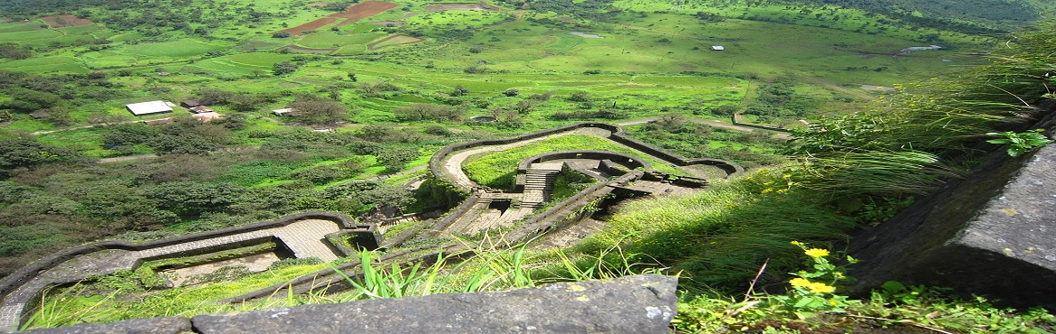 "Book Online Tickets for Trek to Lohagad Fort on 25th November 20, Lohagad. About Lohagad:-Lohagad ""Iron fort"" is one of the many hill forts. It divides the basins of the Indrayani and Pavna and is situated on a wide range of the Sahyadri. The Visapur fort is located on its eastern side. The four large gates of L"