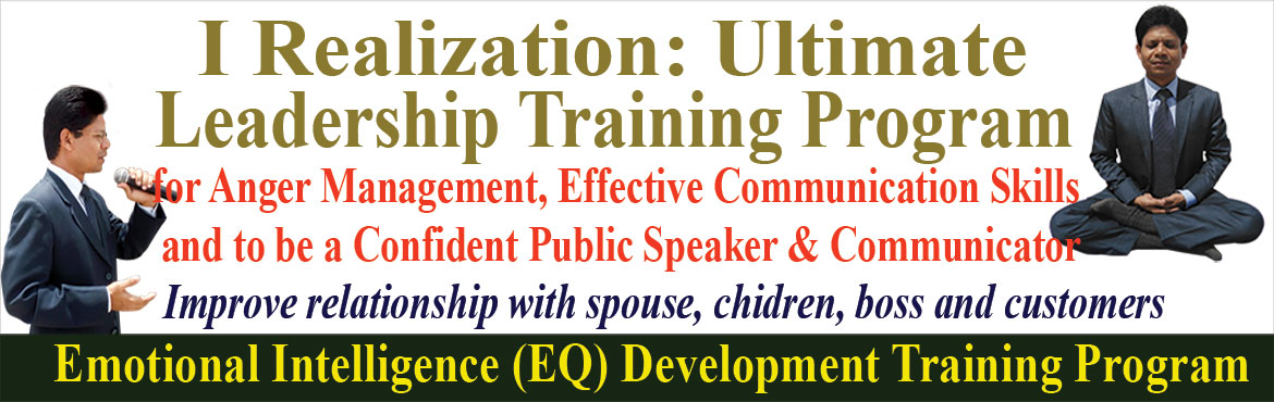 Anger Management and Effective Communication to be confident Public Speaker and Leader