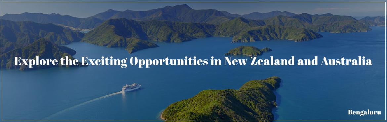 New Zealand,  Australia, Opportunities