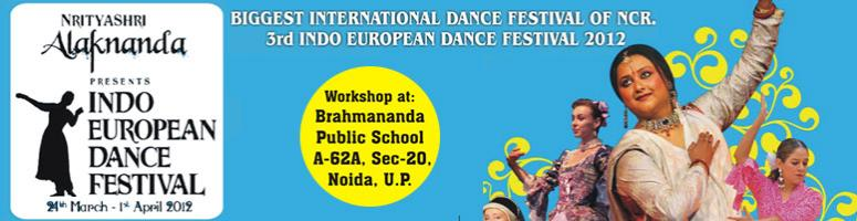 Book Online Tickets for 3rd Indo-European Dance Festival 2012, Noida. 3rd Indo European Dance Festival (IEDF), 2012: The dance festival is for everyone and anyone who loves dancing! We invite participants of all age groups, to learn International and Indian dances from the best masters around the globe. All the dance s