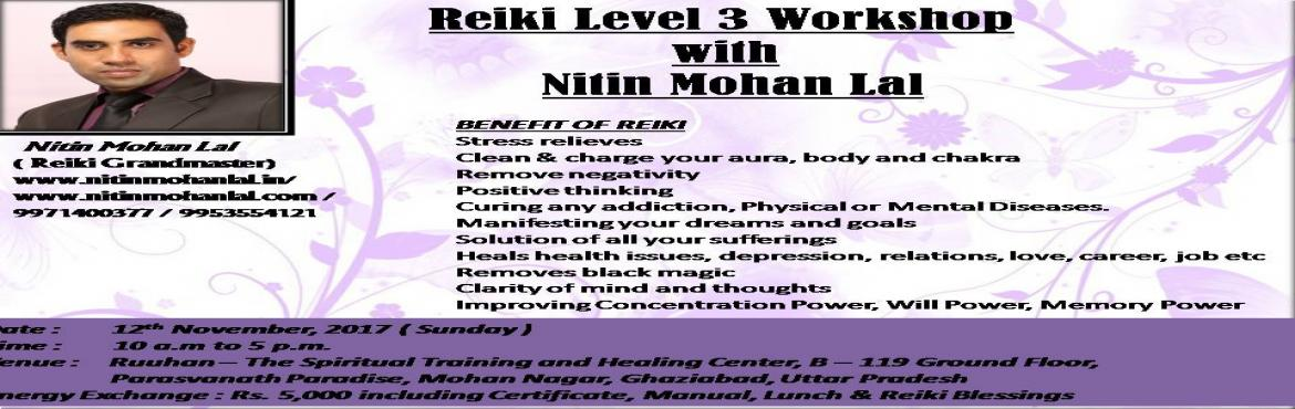 Reiki Level 3 Ghaziabad Meraevents