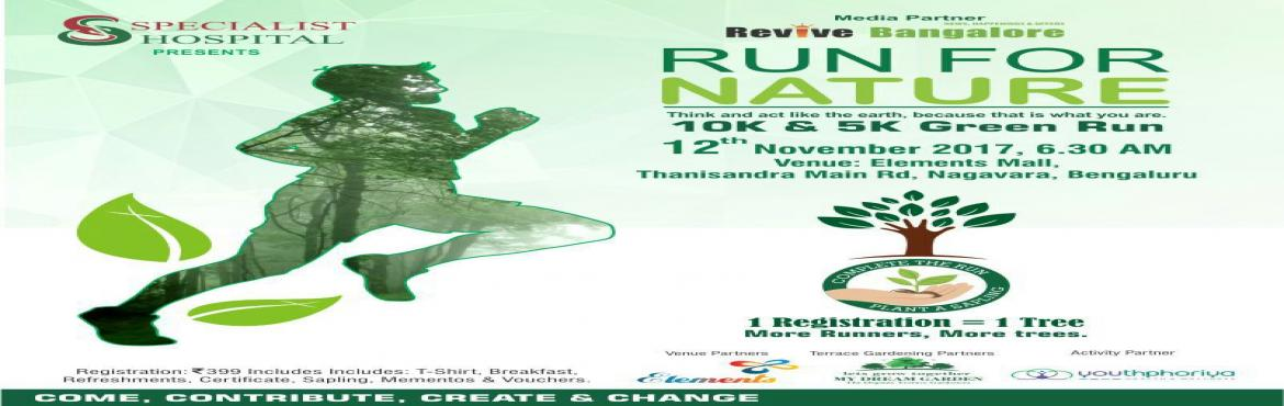 Run for Nature - Elements Mall