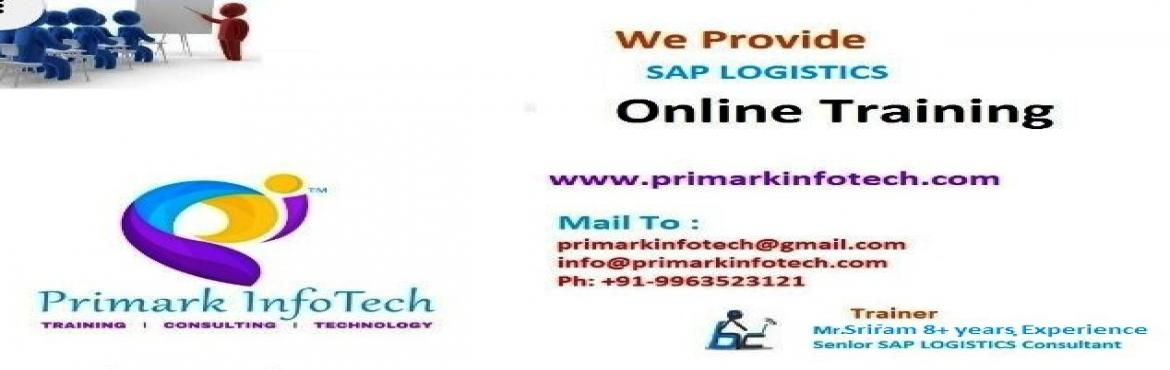 Book Online Tickets for Enroll For Free Online SAP S/4 HANA/SIMP, Hyderabad.   Hi,   Greetings From Primark InfoTech!!!   Enroll For Free Online SAP S/4 HANA/SIMPLE LOGISTICS Demo 28th Oct(Saturday)@10AM IST !!Weekday|Weekend|FastTrack Available!!   Primarkinfotech offers classroom, online, Corporate Onlin