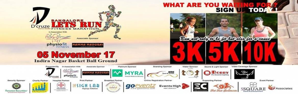 Lets Run A Fitness Marathon 2017