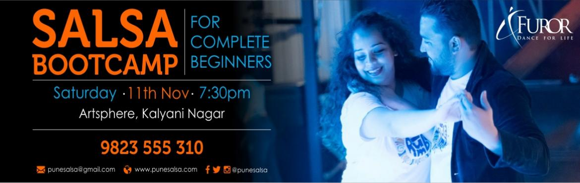 Book Online Tickets for SALSA Bootcamp for COMPLETE BEGINNERS_Ka, Pune. Registrations Open for our Salsa Bootcamp - For Complete Beginners Date: 11th Nov 2017 (Saturday)Time: 7:30pmVenue: Artsphere Pune, 402, Fourth Floor, North Court Building, North Avenue Road Number 12, Near Jogger\'s Park, Above Cafe Colombia, K