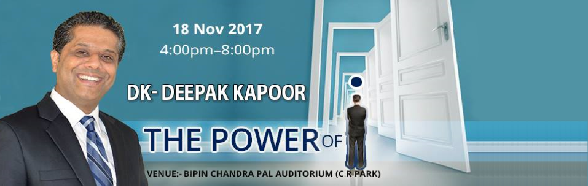 THE POWER OF I- by DK- Deepak Kapoor