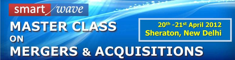 Book Online Tickets for Master Class on Mergers and Acquisitions, NewDelhi. About The MasterclassOne of our recent study shows that for every company that is listed on the stock exchange through the IPO, there are up-to 5 companies which are acquired! Strategically good acquitions provide buyers with new products and of