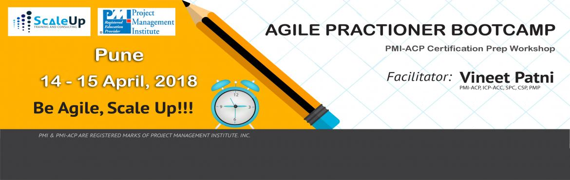 Book Online Tickets for PMI-ACP Certification Prep Workshop Pune, Pune. About The Event    About PMI-ACP Agile Training:    PMI-ACP® certification is a flagship Agile certification from the Project Management Institute (PMI). The PMI-ACP® recognizes knowledge of agile principles, practices and tool