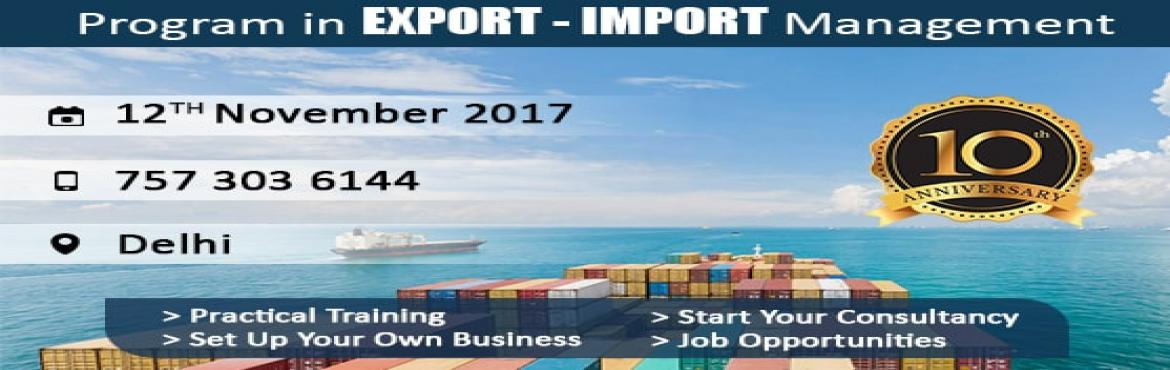 Import Export Training Program DELHI