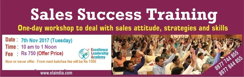 Sales Success Training