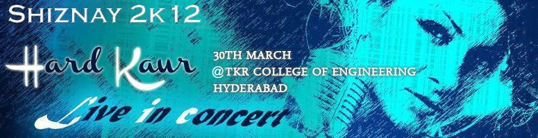 Book Online Tickets for HARD KAUR Live in Concert at TKR College, Hyderabad. 9th Element Entertainments brings to you a rocking night with the the international rapper.