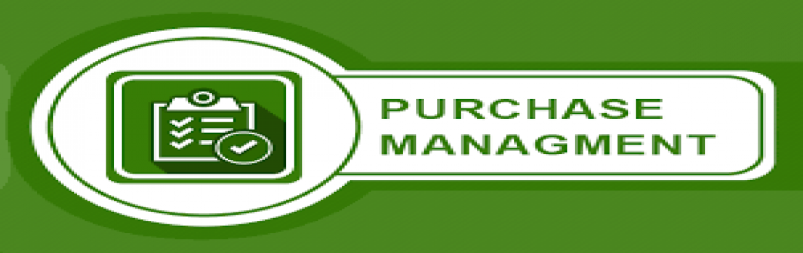 "Book Online Tickets for Effective Purchase Management, Mumbai. Introduction Effective purchasing is important for any enterprise - manufacturing or service, public or private.  Over the last few decades, the nature of this function has radically changed from just ""negotiating with vendors and buying c"
