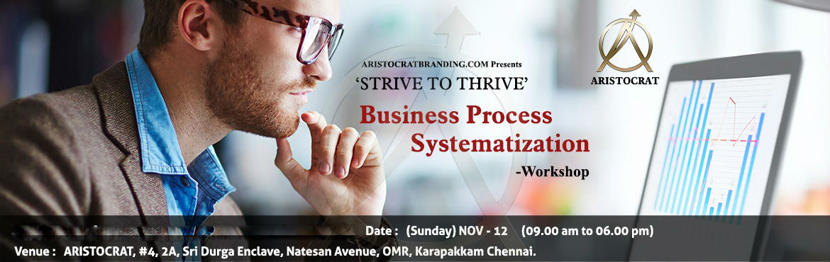 Strive To Thrive - Business Process Systematization Workshop