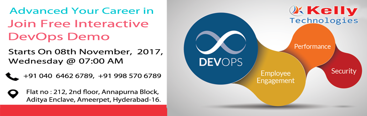The Demand For DevOps Is High Which Is Key Component Of Satisfying Customer And Becoming agiler