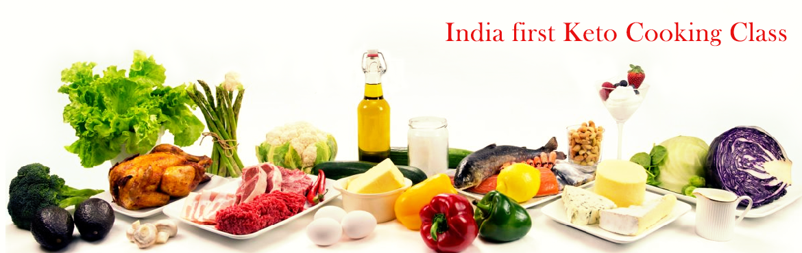 Book Online Tickets for India first Keto Cooking Class, Bengaluru.   Introducing India\'s firstKeto Cooking Classconducted by international Star Keto Chefs Deepak Chaubey and Sivaram.                &nbs