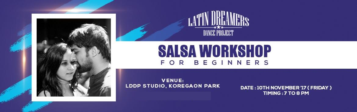 Book Online Tickets for Salsa Workshop For Beginners, Pune.  LDDP is bringing back our most popular class \' Salsa Workshop for Beginners \'. Join us on 10th November for a 1 hour introductory workshop on the basics of Salsa !Date - 10th November \'17 ( Friday )Time - 7 pm to 8 pmVenue - LDDP Studio , Of