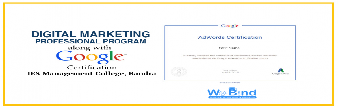 Book Online Tickets for FAST TRACK DIGITAL MARKETING COURSE | MU, Mumbai. Digital Marketing Course CurriculumDAY 19:30 am: Verifying Registration for the Digital Marketing Course(Grab your seats, get your laptops connected to the wifi and begin with Digital Marketing Course)9:45 am: Ice - Breaking Session10:00 pm - 2