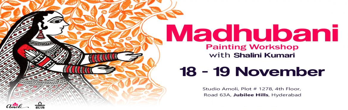 Book Online Tickets for Madhubani Painting Workshop, Hyderabad.  Dear Hyderabad !! Come and unwind with art ! Soak in two days of creativity and take home an intricate and vibrant piece of artwork , exclusively made by you !!  Madhubani is an ancient art style of Bihar and even today is celebrated,world