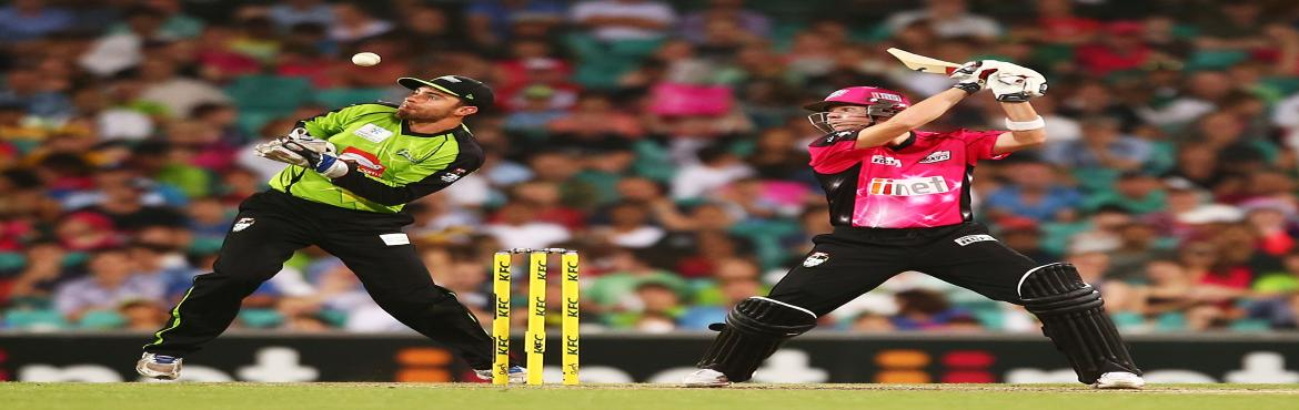 Book Online Tickets for Sydney Thunder vs Sydney Sixers in Sydne, northamshi.  Last match Details 2016/17 Season    sydney Cricket Ground  Moore Park Road Paddington, NSW, 2021 (+61 2 9360 6601)      Series  Big Bash League      Toss  Sydney Sixers , elected to bat first      Player of the match F