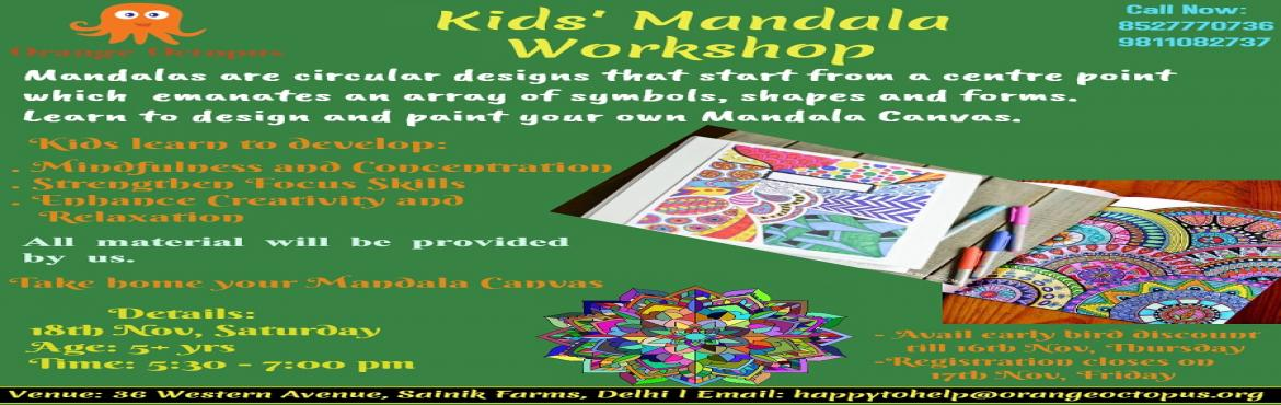 Kids Mandala Workshop