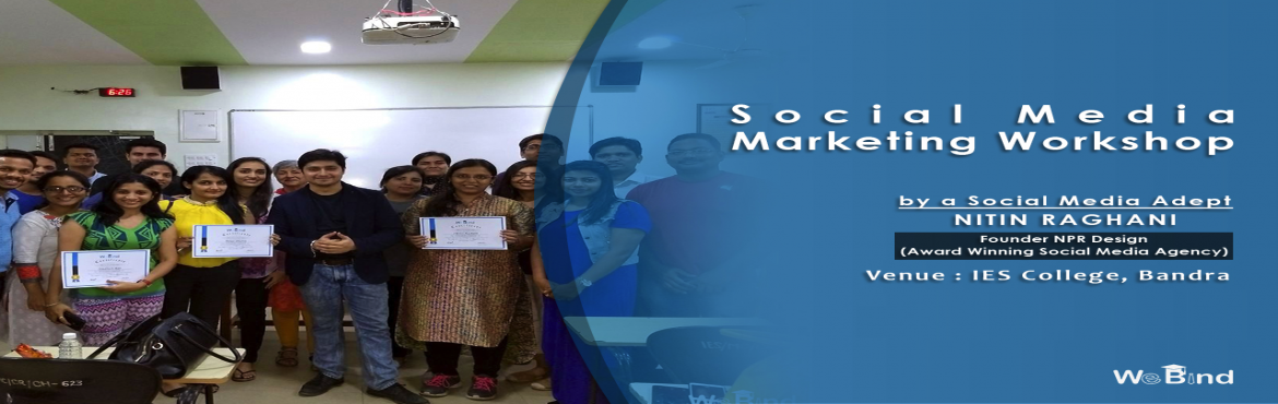 Book Online Tickets for SOCIAL MEDIA AND EMAIL MARKETING COURSE, Mumbai.   We spend over 2.2 hours a day on all Social Media Channels. That's more than twice the global average of 26% and slightly more than the world average of 2.0 hours spent a day.   From Facebook, Twitter, LinkedIn, and Youtube, to Inst