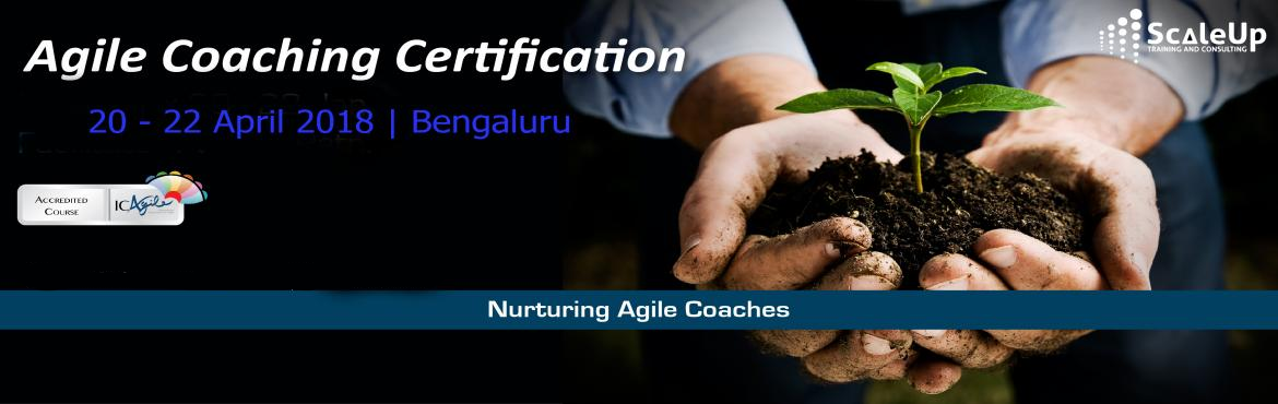 Book Online Tickets for Agile Coach Certification, Bangalore - A, Bengaluru. The Agile Coaching Workshop is a 3-days face-to-face training program with the primary objective to make learners efficient in coaching agile teams. It helps the participants understand and develop the essential professional coaching skills, apprecia