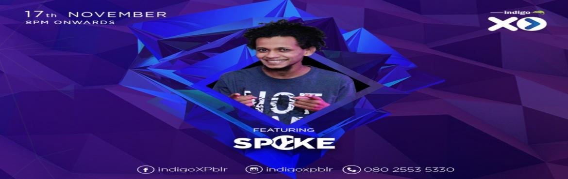 Book Online Tickets for Indigo Night with DJ Spyke, Bengaluru.   Party people of Bangalore, get set for an extra special night at Indigo XP! From the amazing view on our top floor to our spectacular cocktails, Indigo XP is all set to give you a memorable night of partying and dancing this Friday! To make th