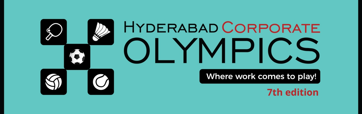 Book Online Tickets for Corporate Athletics - 7th Hyderabad Corp, Hyderabad. EVENTS:- MEN: Events: Running 100m, 200m, 400m, 800m, 1500m, 4x100m Relay, Javelin, Shotput, Discus Throw & Long Jump MEN - SENIORS(>35 YEARS): Running 100m, 200m, 400m WOMEN: Events:Running 100m, 200m, 400m, 800m, 1500m, 4x100m Re