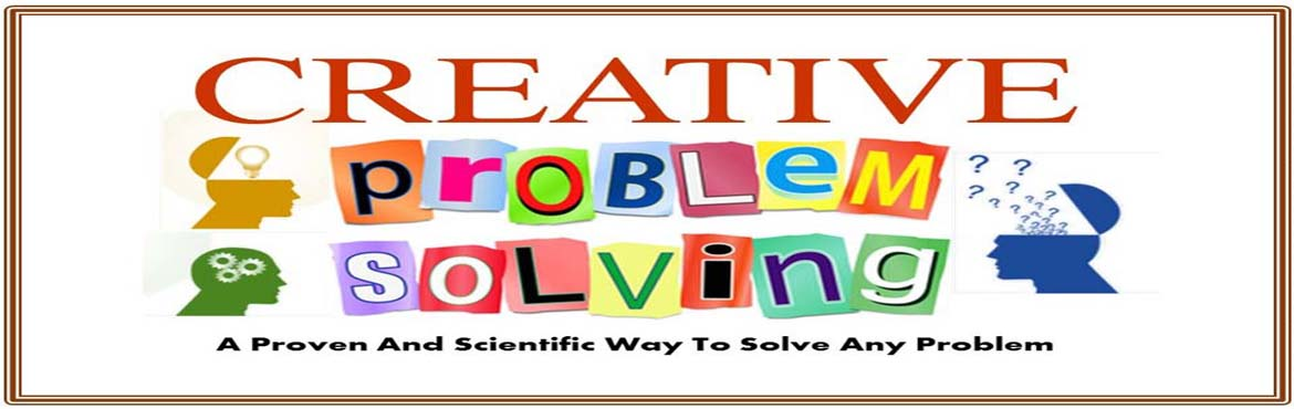 Book Online Tickets for Creative Problem Solving, Hyderabad. Problems are mandatory in our life. But how to solve the problem varies from person to person. We learn to solve our problem by our experience and trial and error method. We have never been taught how to tackle a problem scientifically in this scient