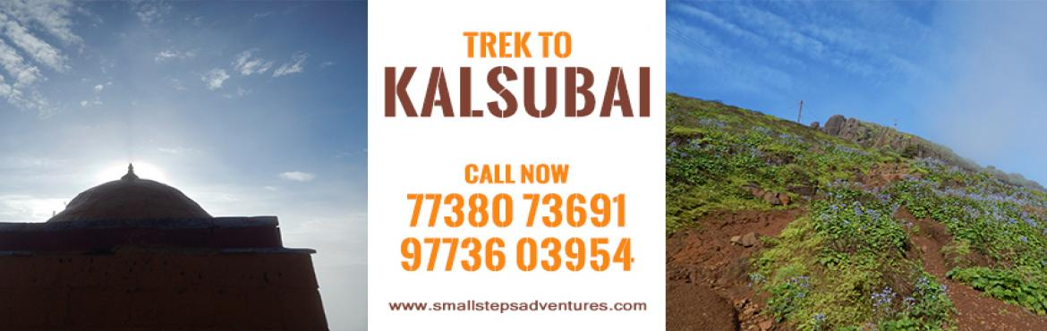 Book Online Tickets for Overnight Trek to Kalsubai on 6th-7th Ja, Indore.   Small Steps adventures: Overnight Trek to Kalsubai on 6th-7th January 2018   Type: Peak Height: 5400 Feet above MSL (Approx) Region: Kalsubai, Ahmednagar Grade: Medium Endurance: Medium   Kalsubai Information: It is the highest