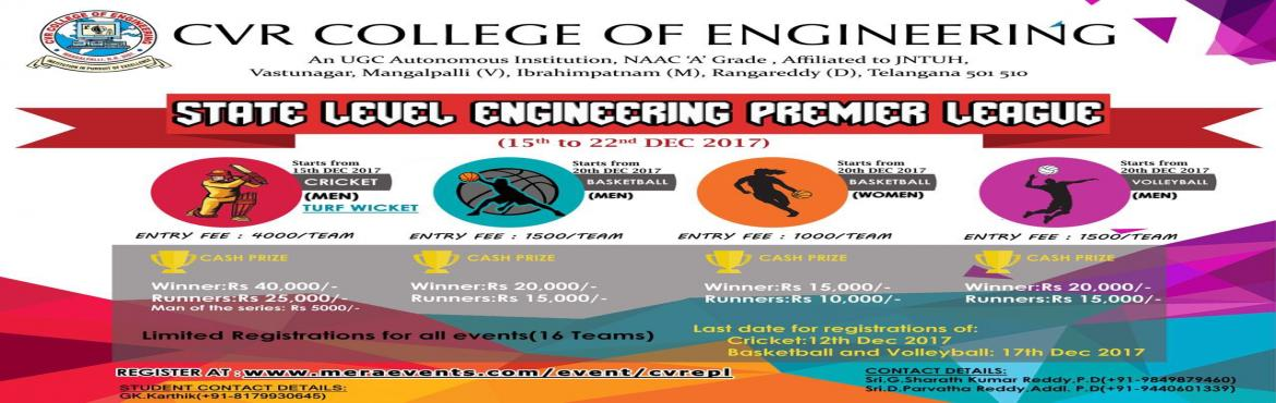 STATE LEVEL ENGINEERING PREMIER LEAGUE