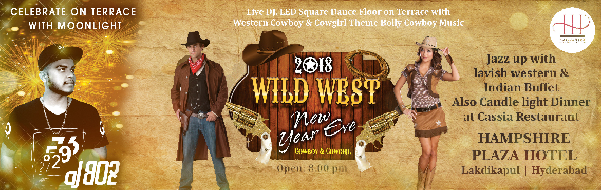 Book tickets online for New Year's Eve 2018 with DJ BO2 at Meraevents and enjoy Cowboy theme with live DJ, High voltage music, LED dance floor