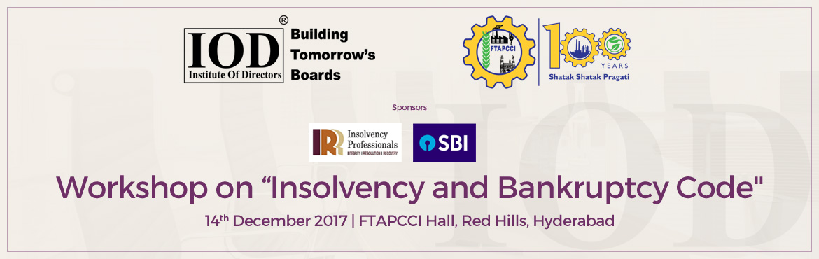 Workshop on Insolvency and Bankruptcy Code