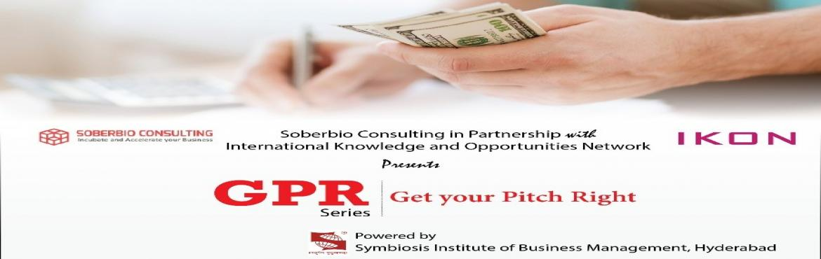 Book Online Tickets for Get your pitch right, Hyderabad. INDIA\'S 1ST CAPITAL COURT to pitch your business to global fund houses and potential investors. We invite entrepreneurs with compelling business acumen, right business with serious top line and impressive bottom. Opportunity for New Age And Traditio
