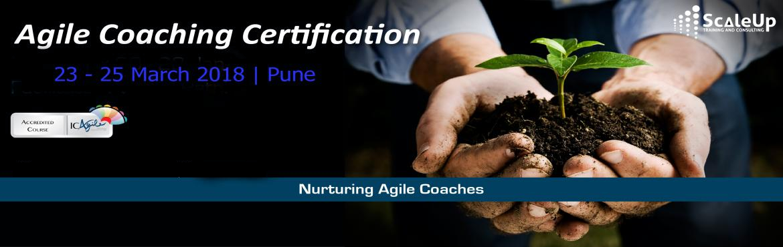 Agile Coach Certification, Pune - March 2018
